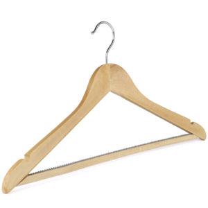 Non-Slip Wooden Suit Hanger